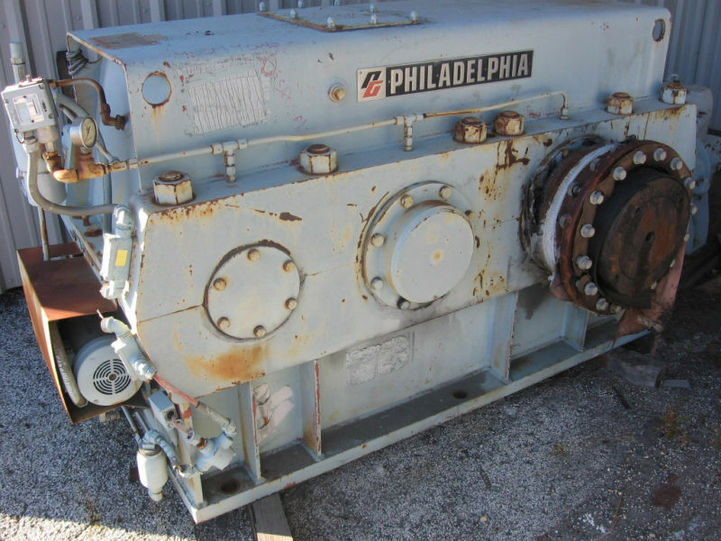 LARGE PHILADELPHIA GEAR REDUCER #165HP 21-1 1800 HP