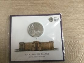Royal Mint fine silver coin