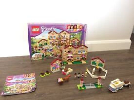 Lego Friends 3185 Summer Riding Camp - COMPLETE