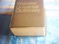 1968 Webster Universal Dictionary