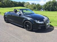 Audi TTS 2.0 TFSI Roadster S Tronic Quattro 2dr 280bhp ALL BLACK! A VERY TIDY EXAMPLE