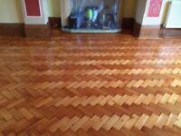 Wood floor sanding, Renovation of stairs