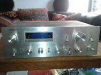 Vintage 70's Pioneer Stereo Amplifier,model SA-708