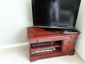 TV table/unit, mahogany