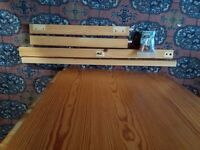 Ikea pine desk in good condition