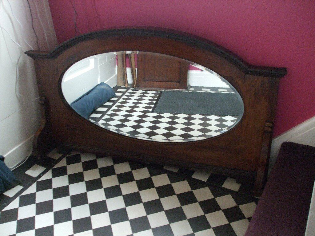 Antique Upstand for Mirror Back Sideboard