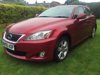 SUMMER HOLIDAY MADNESS!!! Fabulous 2009 59 Lexus IS220d SE Lexus History 124000 Miles HPI Clear