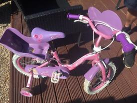 Girls bike for ages4-6