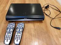 Sky and Sky HD Box with Remotes