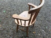 Single Solid Pine Chair