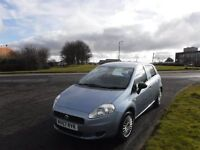 FIAT GRANDE PUNTO 2007 Only 46,000mls,Electric Windows,Central Locking,Full Service History,