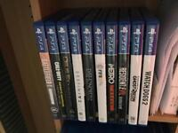 PlayStation 4 2TB with Games and Headset