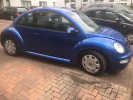VW Beetle 1.6 Luna 2004 Blue