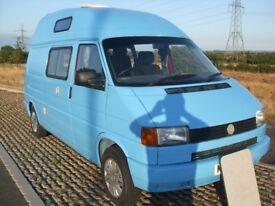 VW LWB T4 2.4 Caravelle Converted Hi-Top Campervan
