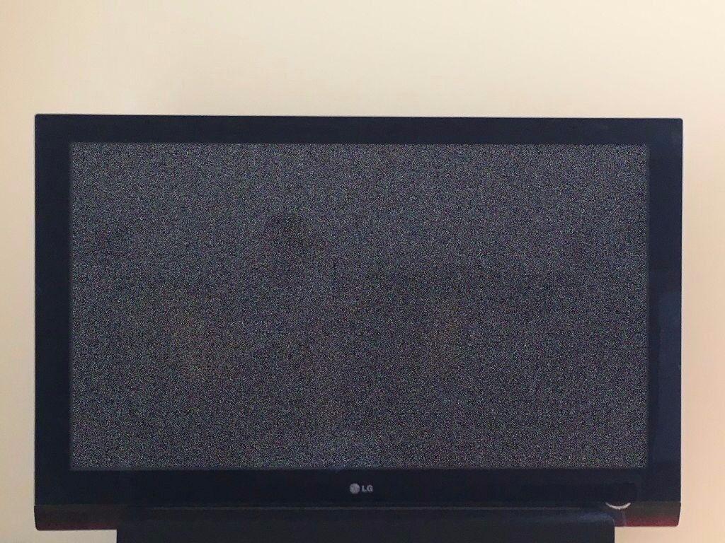 """50"""" LG Plasma Screen HD TV Model: 50PG6010 - Spares or Repairs - Screen Perfect!"""