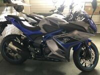 NEW LEXMOTO LXR125 IN STOCK -BLUE/silver MUST BE SEEN -FINANCE AVAILABLE £2650