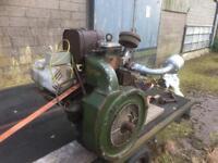 Vintage Stationary Engine / Generator