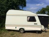 2/3 berth caravan with full awning