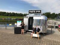 Business for Sale: Retro Aluminium Photo and Karaoke Booth Trailer