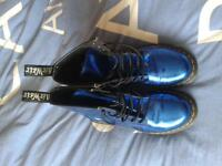 genuine Dr Martens size 6 electric blue