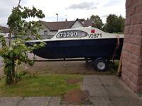 Lovely Marina 17 foot boat