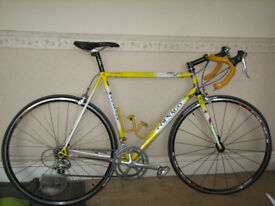 Competition colnago art décor road bike, made Italy late 90s, frame 56cm, good condition. £900