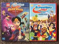 DC SUPERHERO GIRLS DVDs