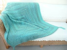 Sofa/Armchair Throw Crocheted £40.00