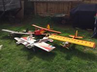 Rc aeroplanes x5