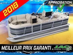 2018 Legend Boats Ponton Bayshore Cruise Mercury 25 ELPT Bateau
