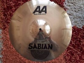 "Sabian AA Rock Crash 16"" in excellent condition"
