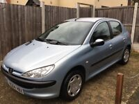 Peugeot 206 1.4 HDI S diesel tax only £30