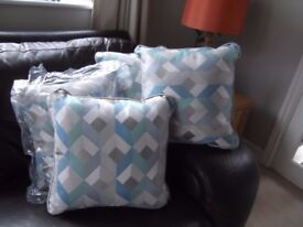 4 brand new scatter cushions, never used