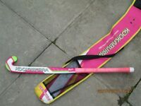 Kookaburra Girls Hockey stick and carry-case