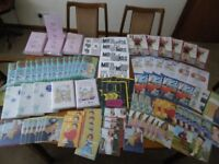 a large selection of birthday cards in sleeves brand new