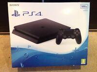 SONY PS4 500GB BNIB AND SEALED £180