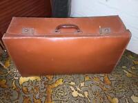 Light Brown/Tan Vintage Suitcase
