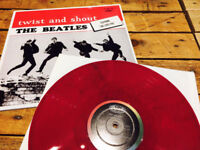 THE BEATLES - TWIST & SHOUT - CANADIAN REISSUE - RED VINYL