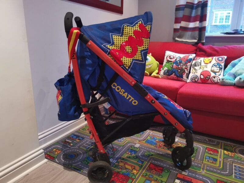 Cosatto YO POW! Limited Edition Pushchair, used for sale  Rainham, Gillingham