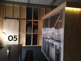 TEN 87 STUDIOS - Desk space in Brand New Creative Hub - Great Transport Links.