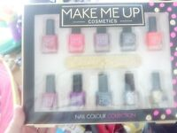 Nail polish set bought but never used
