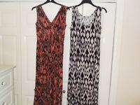 2 LONG DRESSES