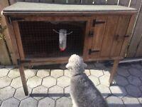 Rabbit / guinea pig animal hutch