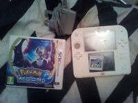 Nintendo 2ds and 2 games