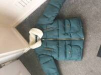 Marks and Spencer boys jacket green 18 24 months size