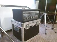 Peavey PA & Speakers (Includes flight case, Speaker Stands & 2 Mic Stands) £150 ONO
