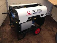 Pramac S12000 silent generator 10/11 Kva 10,000 watts