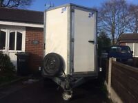 IFOR WILLIAMS BOX TRAILER .BV105G