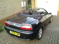 MGF with 61,000 replacement Engine, Midnight Blue.