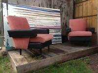 Retro 1960s/70s armchairs